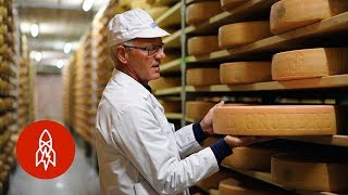 Making Gruyère in the Swiss Alps for Centuries