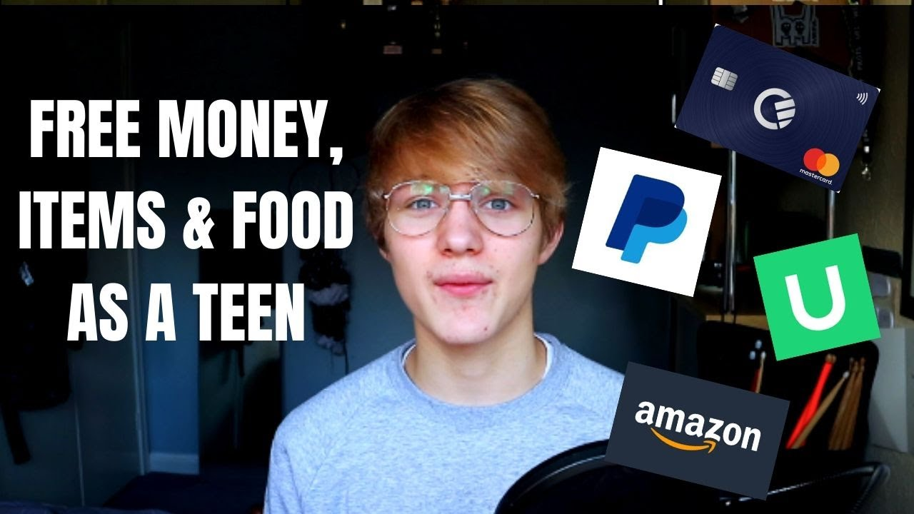 How To Get Free Money/Items/Food as a Teenager | UK | Noah Brierley