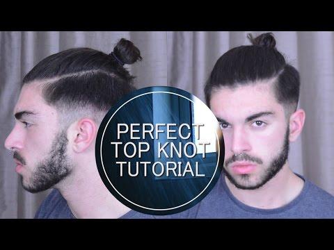Men's Hair   Perfect Top Knot/Man Bun Tutorial
