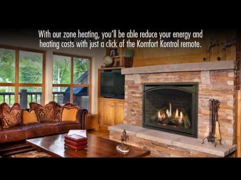 Carlton 46: Direct Vent Gas Fireplace by Kozy Heat