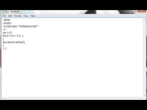 JavaScript Program to Print  Numbers in Reverse Order