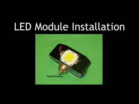 How To Install Tveden Lamp Modules DJL-LED Projector Lamp Module