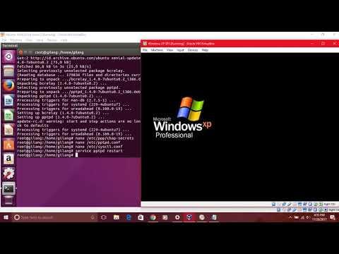 Installasi VPN Server PPTPD di Ubuntu 16.04