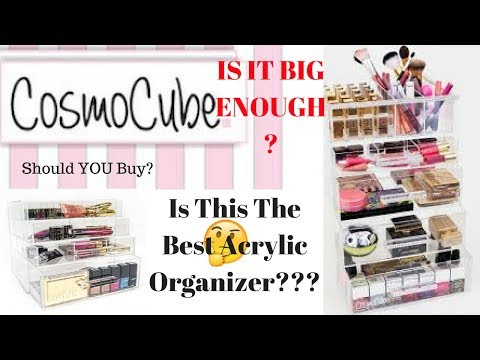 The Best Acrylic Makeup Storage | My CosmoCube Update