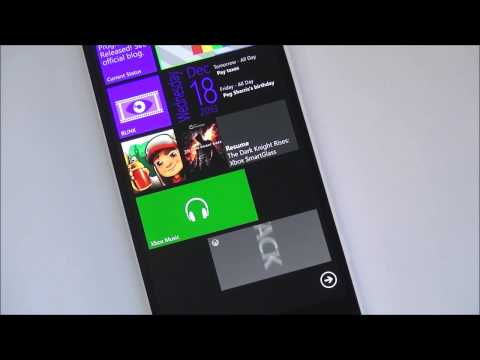 Xbox Music + Video apps for Windows Phone 8