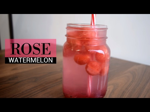Watermelon Rose Mocktail | Rose watermelon cooler | Summer drinks | Party Drink | Soft Drink