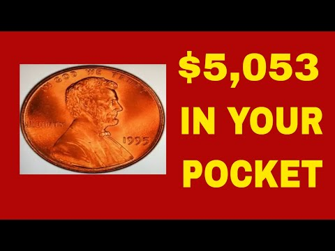 CHECK YOUR POCKET CHANGE FOR THIS RARE 1995 PENNY WORTH MONEY! PENNIES TO LOOK FOR!
