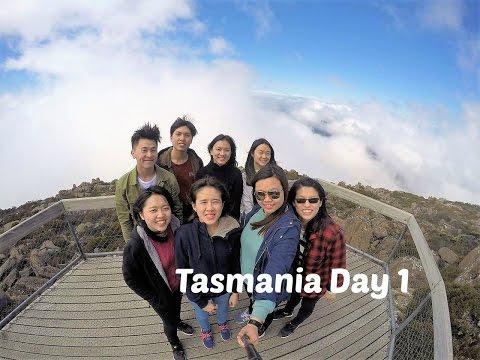 Tasmania Travel Vlog #37 | Mt Wellington | Russell Fall