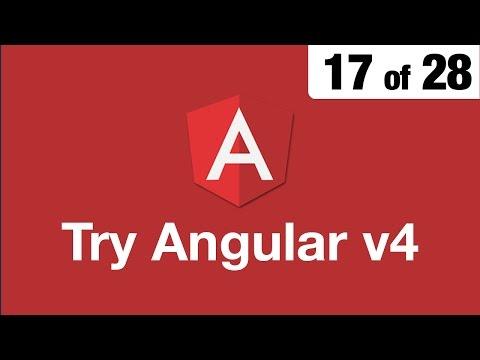Try Angular v4 // 17 of 28 // Two Way Data Binding