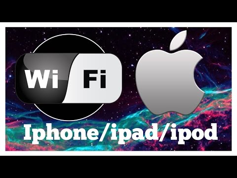 How to boost wifi signal on iphone ipad ipod  (SUPER EASY)