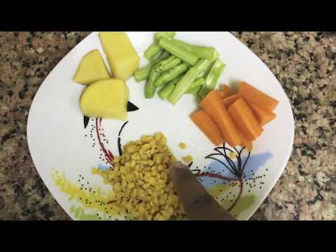 6 to 12 months healthy baby food recipe - babies first food variety - easy guide