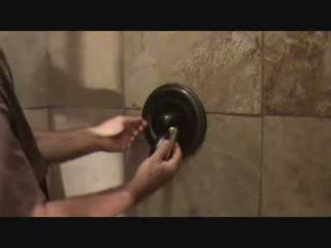 How to tighten a loose shower handle