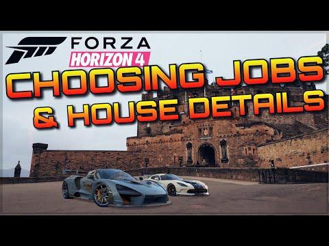 Forza Horizon 4 | BREAKDOWN | New Jobs, Intelligent career mode & House function + Gameplay