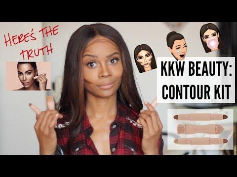 Kim Kardashian's KKW BEAUTY x Contour Kit: My UNBOXING + HONEST First Impression!