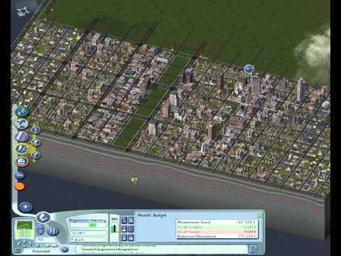Let's Play : Sim City 4 Deluxe Part 8 how to start a city [German/Deutsch]