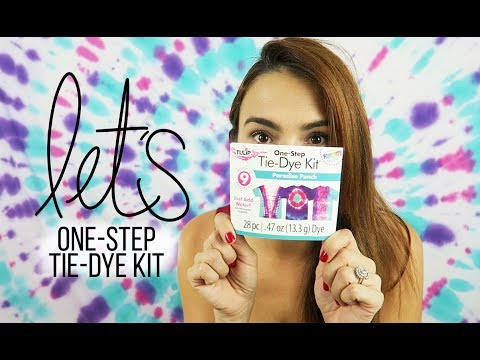 First Impression ▹ One Step  Tie-Dye Kit | Vanelicious