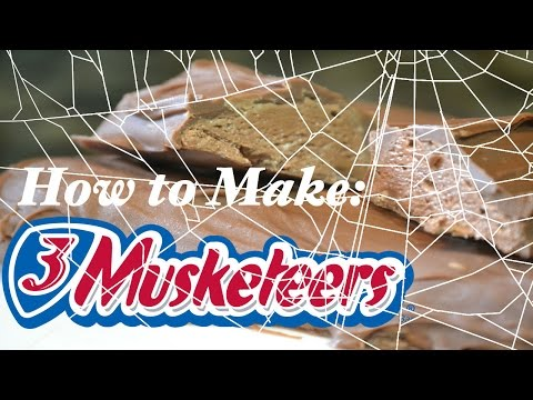 How to Make Easy Homemade 3 Musketeers Bars - Only 3 Ingredients!