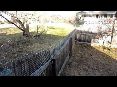 Extending Fence Height