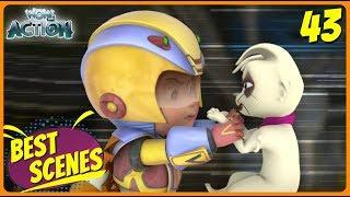 BEST SCENES of VIR THE ROBOT BOY | Animated Series For Kids | #43 | WowKidz Action
