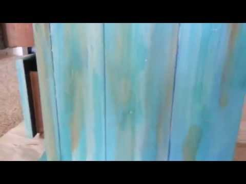 DIY HOW TO MAKE WASHED BEACHY STYLE FURNITURE