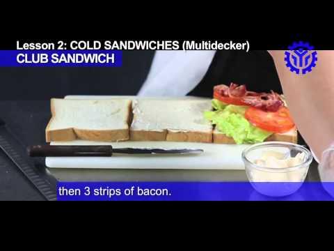 Multidecker Sandwich: Club sandwich