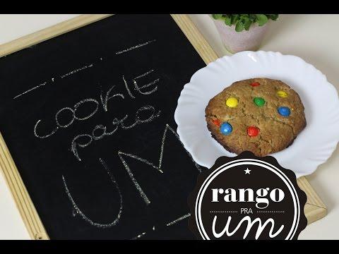 COMO FAZER COOKIE (porção individual) | Rango pra Um