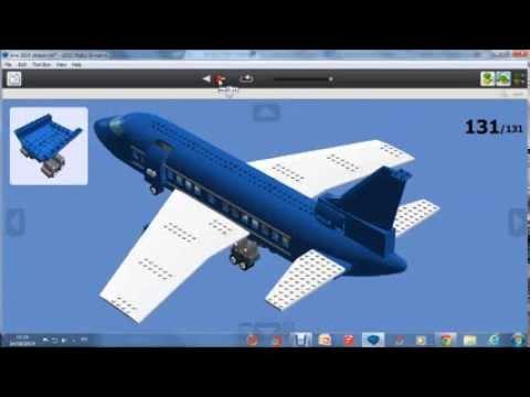 How to build a lego passenger plane 2014 version