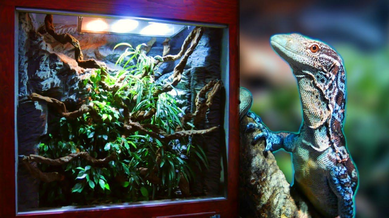 How I made a Huge Reptile Vivarium – Full Build!