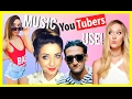 MUSIC POPULAR YOUTUBERS USE!! 2017