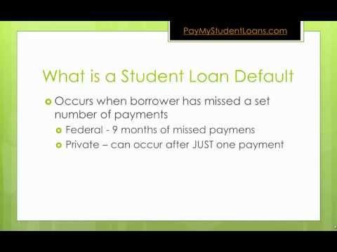 Student Loan Default Explained