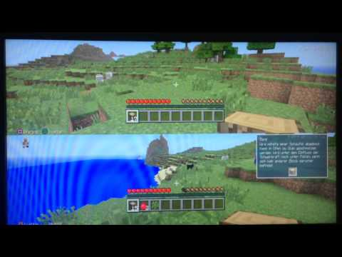 Let's Play Minecraft PS3 Multiplayer  #001