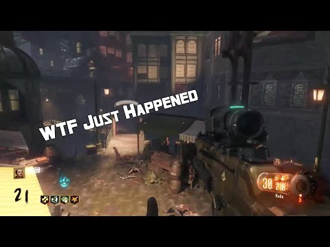 WTF Just happened?! ( Black Ops 3 Zombies)