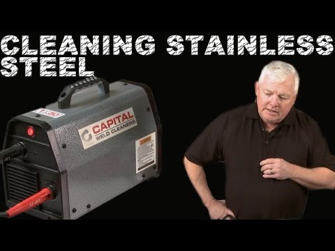 Cleaning Stainless Steel Welds with an Electric Weld Cleaner | TIG Time