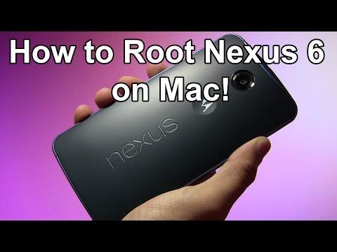 How to Root Nexus 6 on Mac!