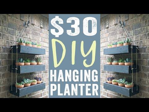 DIY Hanging Planter for $30