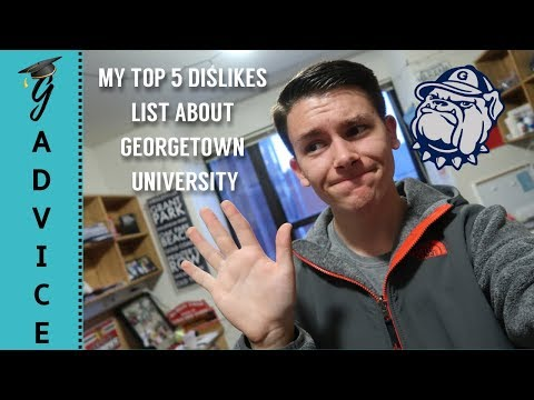 5 Things I Dislike Most about Georgetown University