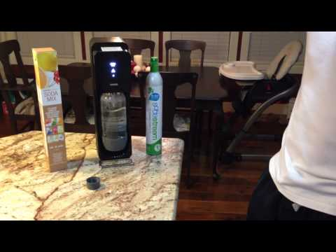 Soda Stream 60 second review - How to make Soda Water