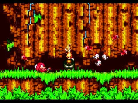 Sonic 3 & Knuckles Part 1: Angel Island Zone (Knuckles)