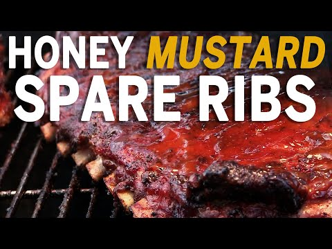 Honey Mustard Spare Ribs recipe by the BBQ Pit Boys