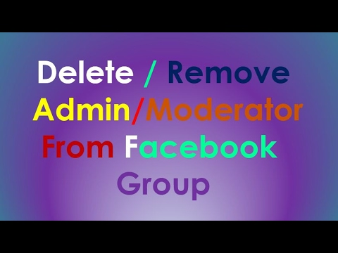 Facebook Group Admin | How to Remove Admin From Facebook Group | Tulsi Networks