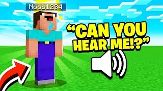 Noob1234 Voice Reveal.. (Minecraft)