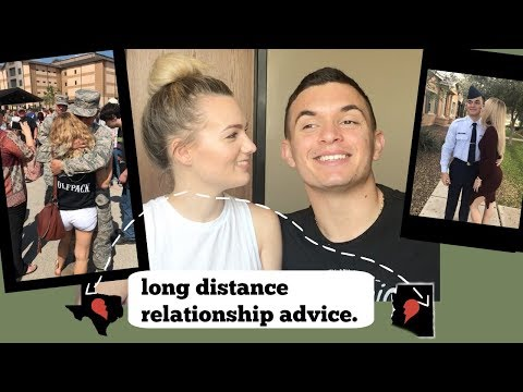 ADVICE FOR LONG DISTANCE RELATIONSHIPS/ MILITARY RELATIONSHIP | Kimmi Kontour