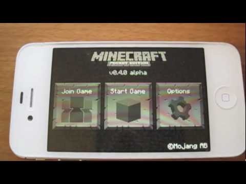 Minecraft -- Pocket Edition v0.4.0 Alpha iPhone App Update Review