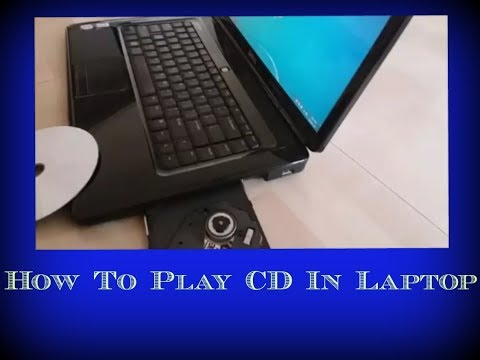 How to play CD in Laptop | How to open CD in computer | play CD | how to run CD in laptop | run CD
