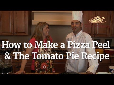 How to Make a Pizza Peel & Tomato Pie Recipe