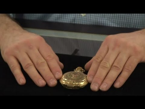 How to Identify an Antique Pocket Watch : Antique Watches & Jewelry