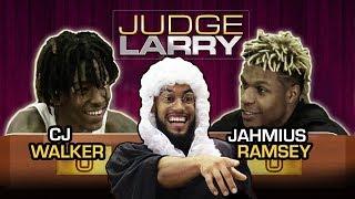 If You Lie You LOSE YOUR INSTAGRAM! CJ Walker & Jahmius Ramsey Have The BATTLE Of Best Hair 😱