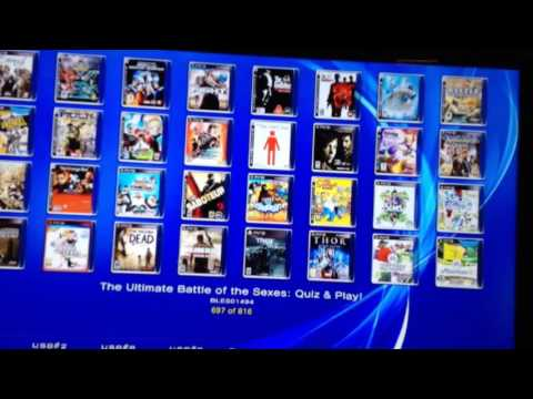 PS3 CFW Multiman 4 55 with 816 Games