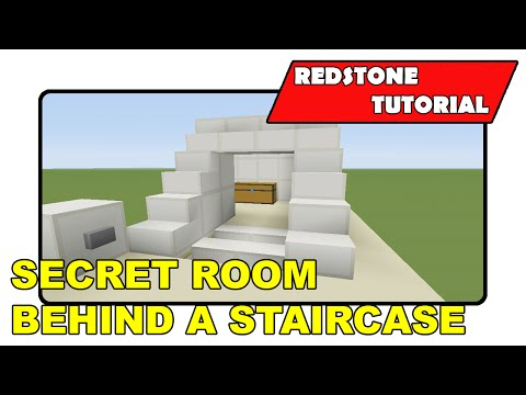 Secret Room Behind Stairs [Expandable]