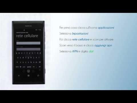 Lycamobile Italia - Configura internet su Nokia